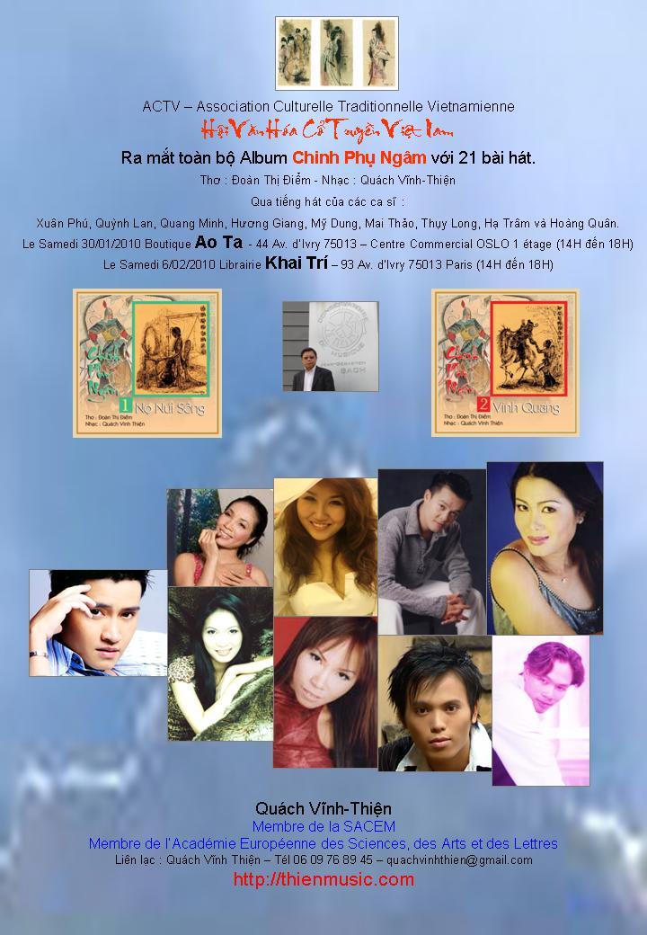 Ra Mat Album sChinh Phu Ngam